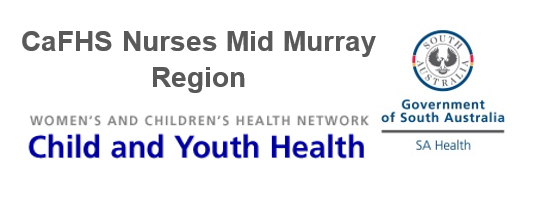 CaFHS Nurses Mid Murray Region - Child and Youth Health
